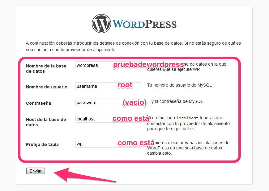 paso3 wordpress